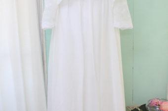 エンパイアドレス/ホワイト/ボレロ付/¥10000